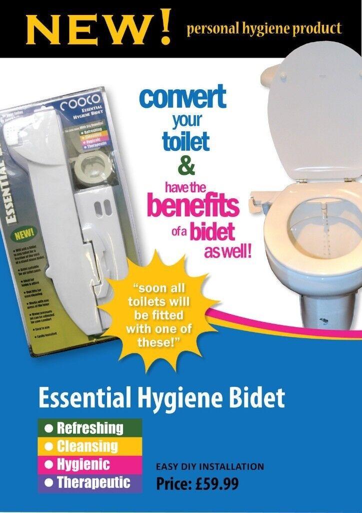 Toilet Bidet Conversion