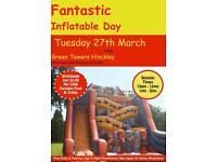 Fantastic Indoor Inflatable bouncy castle Day Hinckley
