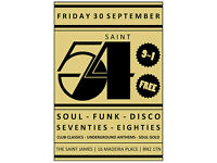 Saint 54 - Soul, Funk & Disco Classics