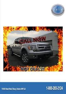 2014 Ford F-150 XLT, 157 Wheelbas, 4x4, Gas and Go truck!