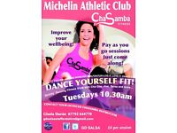 ChaSamba Fitness Class @Michelin Athletic Club