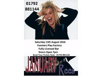 January Rees comes to Funsters Play Factory On 13th August