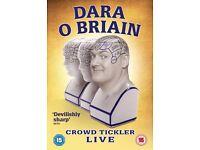 Dara O Briain DVD - Crowd Tickler Live - NEW