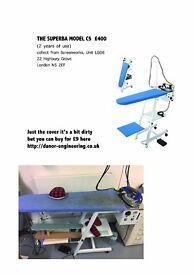 THE SUPERBA MODEL C5 - Steam board generator iron