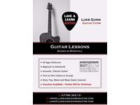 Guitar Lessons based in Westhill, Aberdeenshire