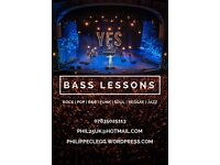 Pro Bass Guitar Tuition / Lessons
