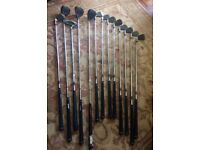 Hippo golf club set and size 7 golfing shoes in very good condition...