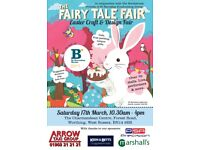The Fairy Tale Fair at Easter – Worthing – In aid of St Barnabas