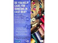 Do you help care for someone in East Ren