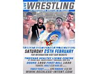 Live Professional Wrestling in Twechar on February 25th