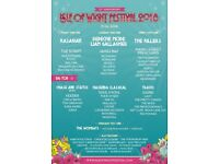 2 full weekender camping tickets for isle of wight