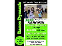Charleston and Hula Hoop Workshops for Adult Beginners