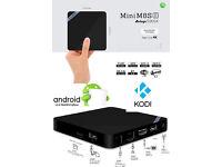 MINI M8S 2 - 2GB RAM 8GB ROM ANDROID 6.1 TV BOX KODI 16 17 'AWESOME BLANK BOX' - CARLISLE CUMBRIA