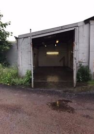 Unit for rent in Uddingston, top of the S bend.