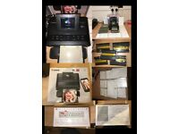 canon selphy cp1200 photo printer + loads of paper n ink
