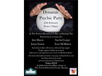 Dynamic Psychic Party at The Pavilion Restaurant & Bar Hastings Pier