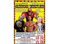 **** AMERICAN WRESTLING TICKETS ****