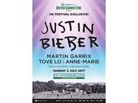 Justin Bieber tickets - Hyde park 2.07.17