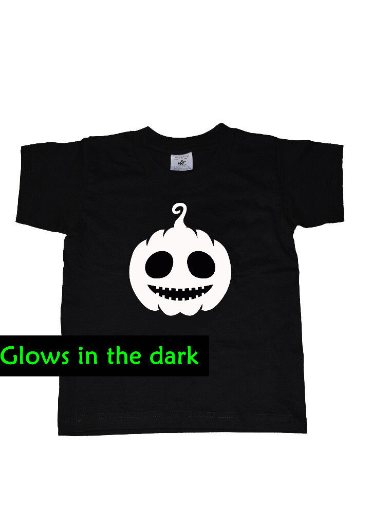 Boys glow in the dark t shirts for halloween
