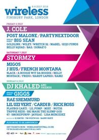 Saturday Wireless festival ticket for sale £70. I can meet or can arrange collection