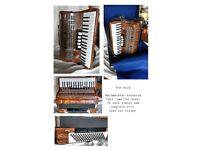 Weltmeister Topaz accordion nearly new
