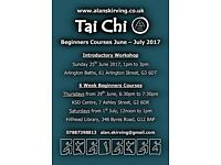 Tai Chi Beginners Classes - June / July
