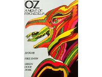 OZ - A Night Of Psychedelia / Green Door Store / 21st September / Free Entry