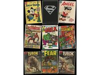 Golden Age and Silver Age Comics For Sale