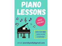 Piano Teacher/Piano Lessons in Kings Heath/Moseley - all ages welcome!