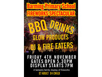 Barming Primary School FIREWORKS SPECTACULAR