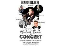 Michael Buble Tribute Mr Bubbles - Professional Wedding Singer Vocalist Act Frank Sinatra Rat Pack