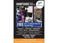 Hampshire Teen Project (FREE)!