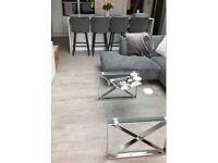SPC Vinyl Luxury Flooring Grey Wood Effect - 2.63m² per Pack