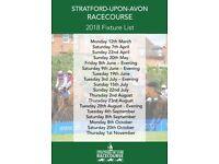 Stratford Racecourse Annual Membership 2018