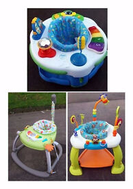 Fisher Price Spacesaver Activity Centre & Others