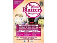'Mad Hatters Tea Party' for ladies & children Sat 1st April 3-6pm Adults £5 under 16s £2
