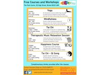 Free Mindfulness Class, Wednesdays 1pm-2pm