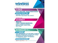 WIRELESS TICKETS (Saturday & Sunday)