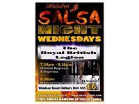 Oldbury Salsa Classes on Wednesday