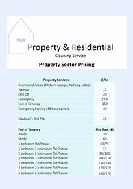 Property & Residential Professional Cleaners Available!