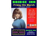 FRIDAY 9th MARCH - 60s 70s SOUL / REGGAE / MOTOWN with DOUBLE BARREL – SHORTWOOD
