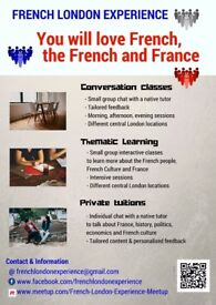 Learn French & French Culture: Thematic & Conversation Classes, Tuitions & Tailored programme