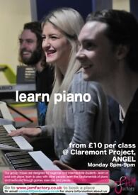 piano/keyboard lessons - £10 per class - all abilities welcome - fun group learning environment