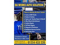DA Works Auto Solution Mechanical and Accident / Crash repair Center Electrical Diagnostics, Garage