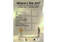 Where's the Art? CARU 3rd Anniversary Event
