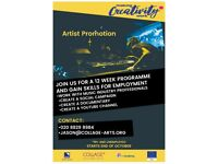 FREE Creative Courses in Animation, Radio and Artist Promotion