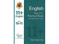 CGP 11+ Practice Book English with Assessment Tests
