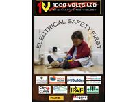 ELECTRICAL CERTICATES / THIRD PARTY / INSPECTION & TESTING / ELECTRICAL WORK / LONDON / RELIABLE