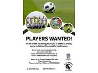 Players Wanted for Tile Hill United Junior Football Club