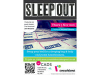 Roundabout Sleep Out